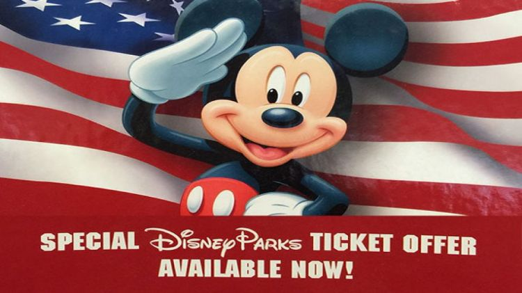 Disney Salute Tickets now available to DOD Civilians