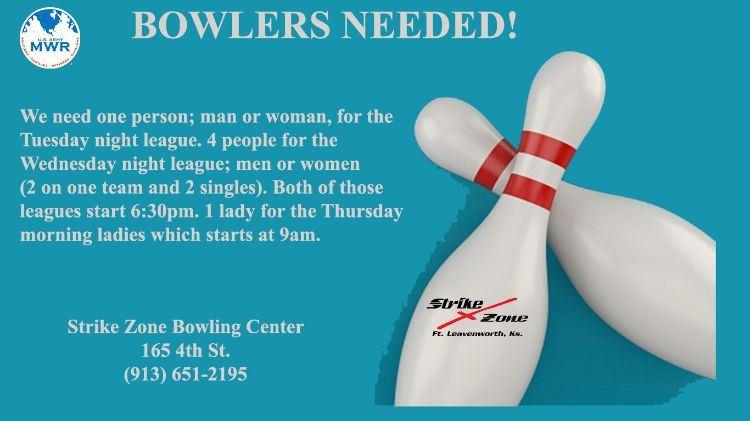 Bowlers Wanted!