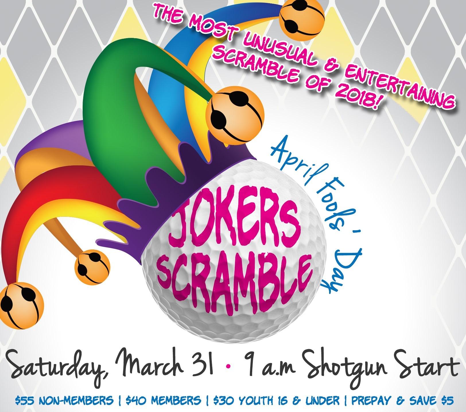 April Fools Jokers Scramble