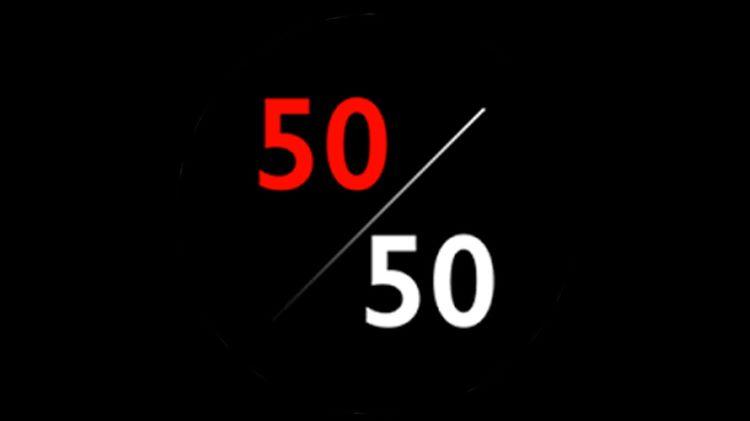 50/50 Night