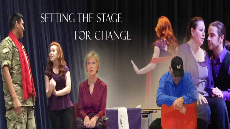 Theater Series by Fix the Hurt, Inc. for Domestic Violence Awareness Month