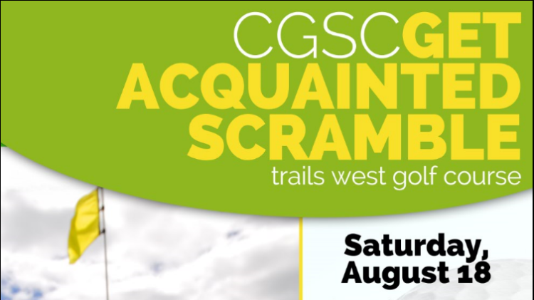 CGSC Get Acquainted Golf Scramble