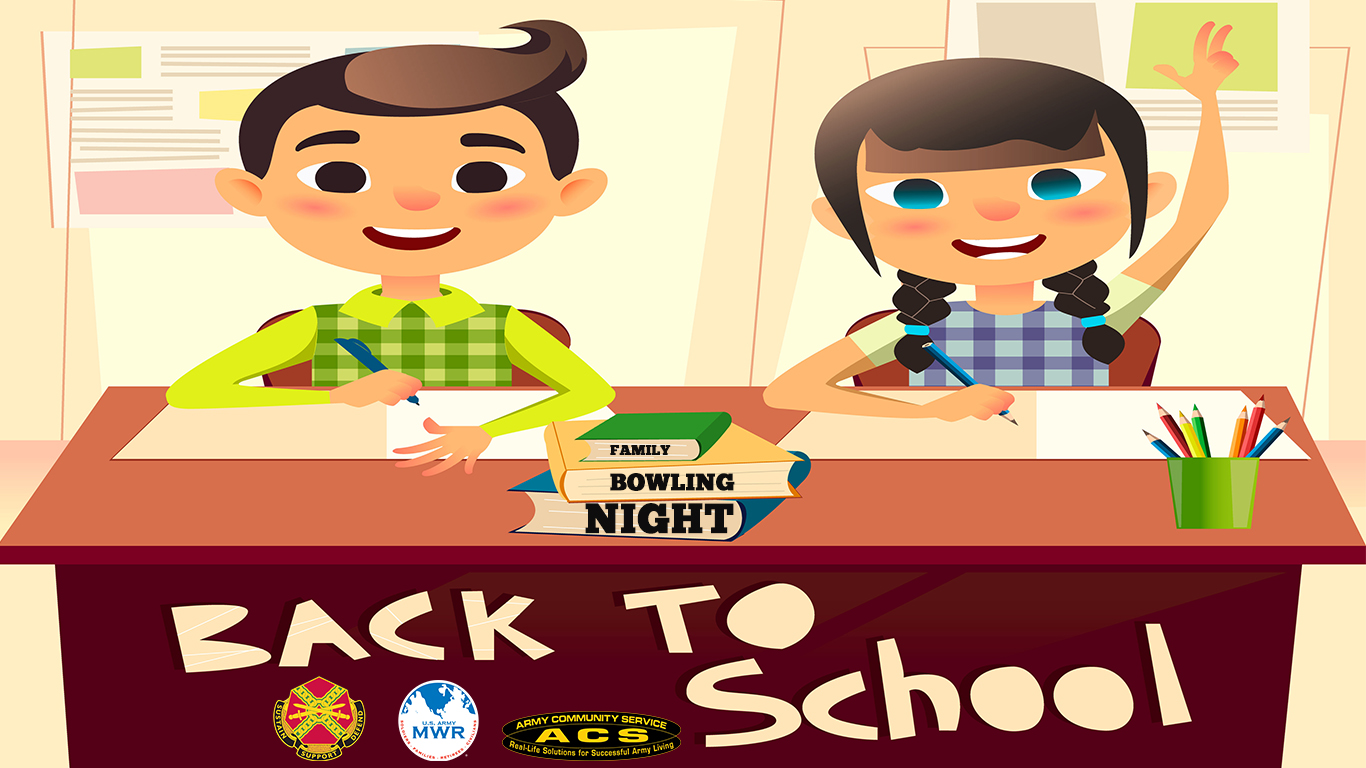 Back 2 School Family Bowling Night
