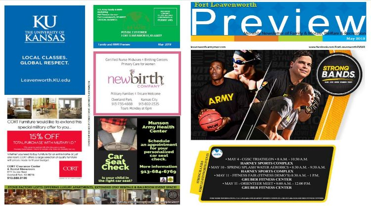 Family & MWR's monthly Preview