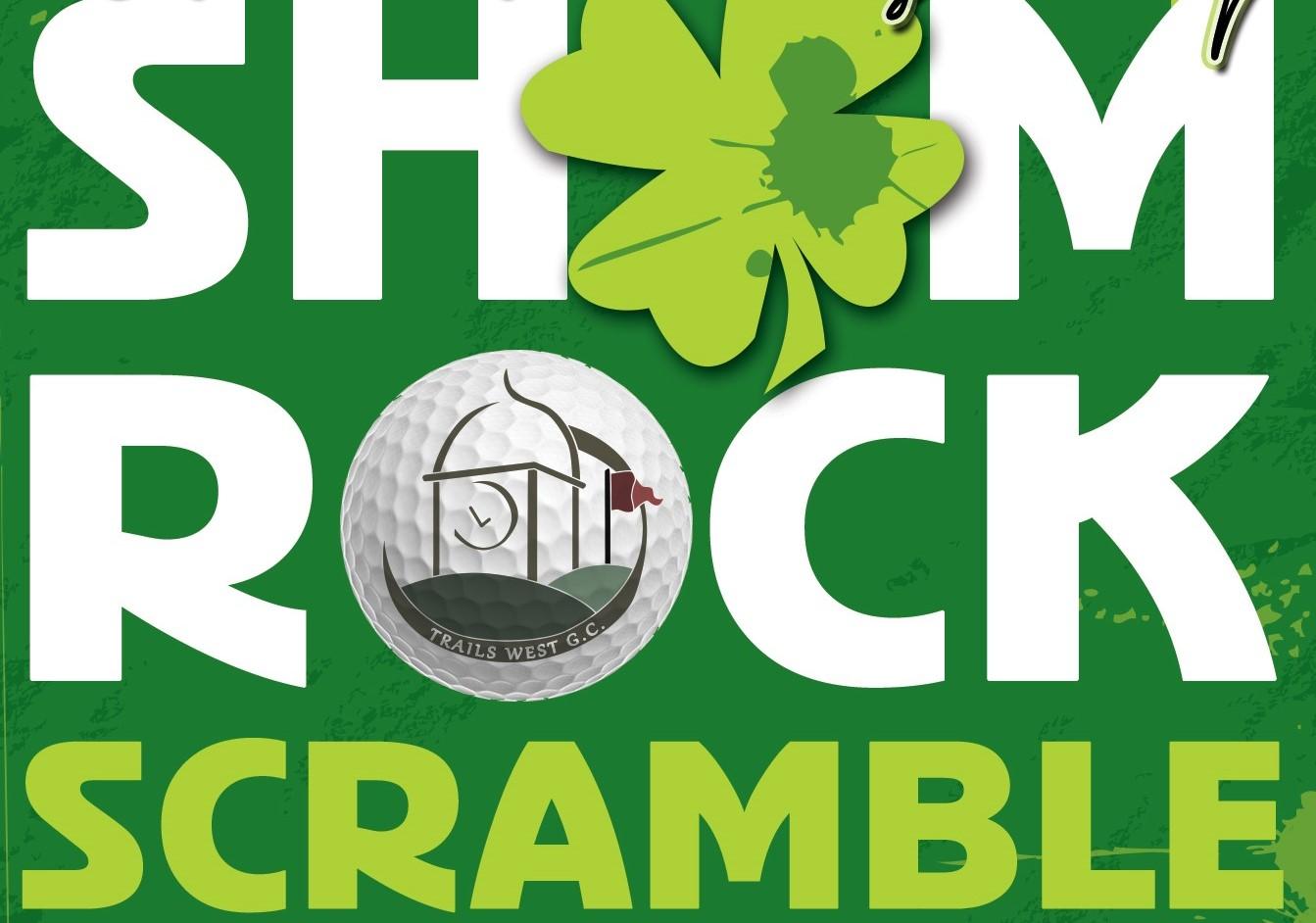 St. Patricks Day Shamrock Scramble