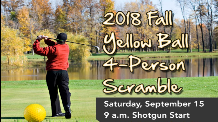 Fall Yellow Ball 4-Person Scramble