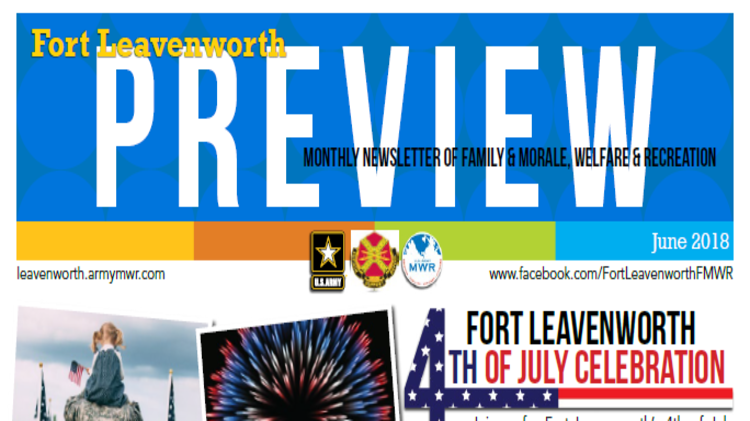 FMWR monthly Preview
