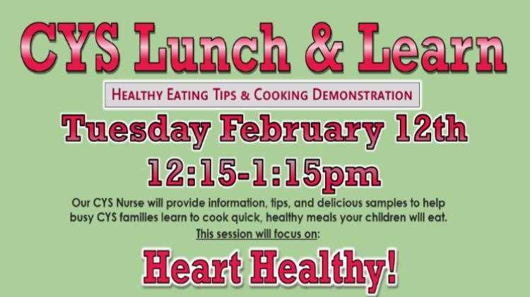 CYS Lunch & Learn