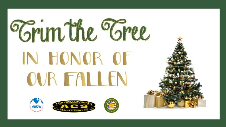 Trim the Tree in Honor of Our Fallen