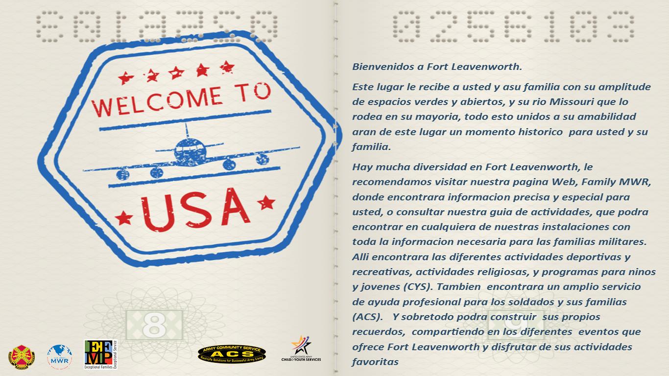 Bienvenidos a Fort Leavenworth!