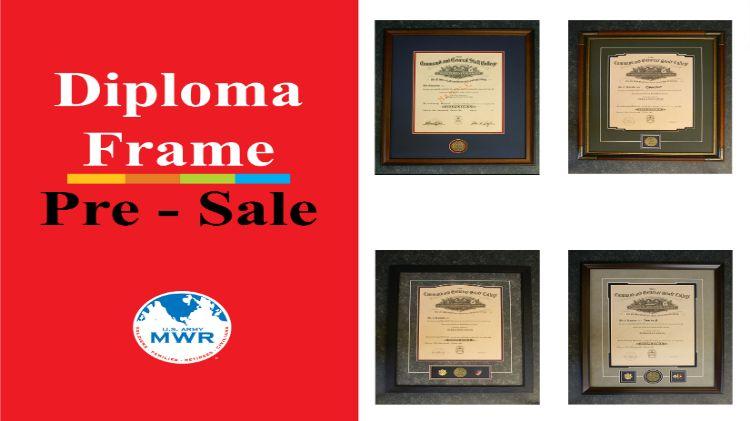 Diploma Frame Pre-Sale