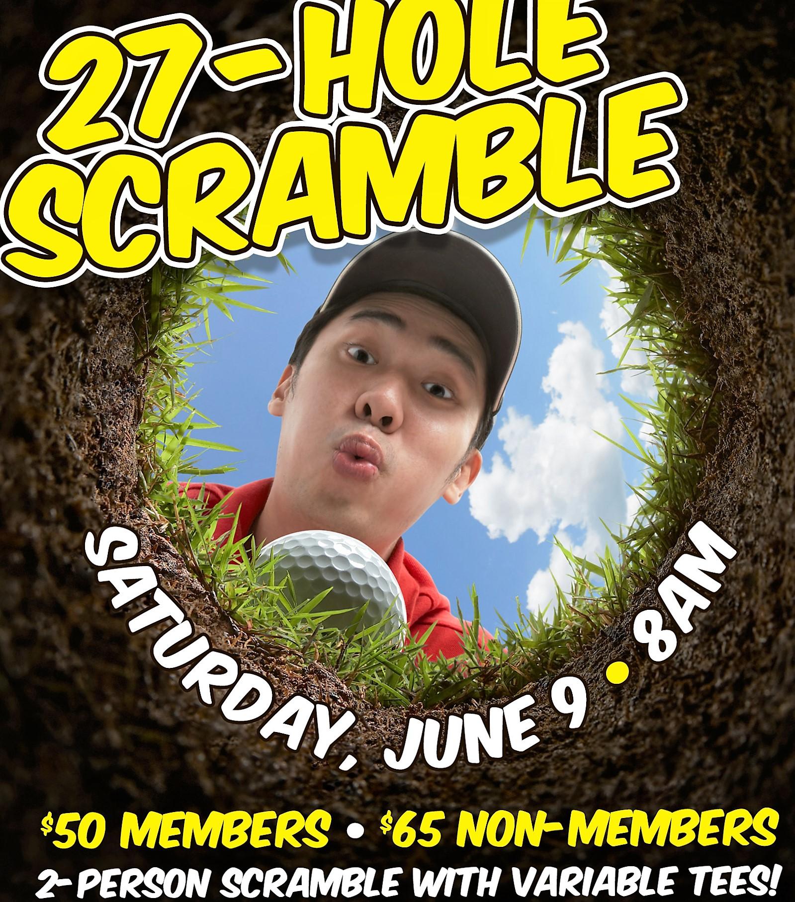 2-Person 27 Hole Scramble