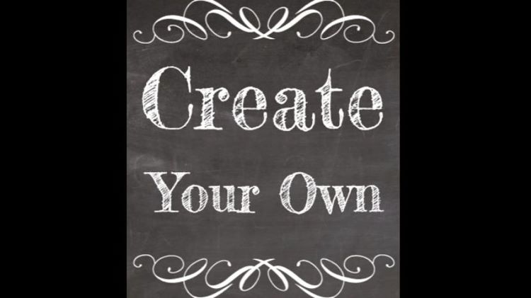 Create your Own Chalk Sign